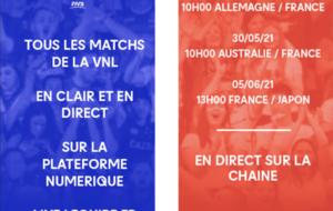 VNL Équipe de France